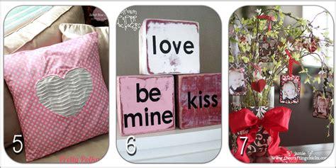 valentine's home decor craft ideas {roundup} Little