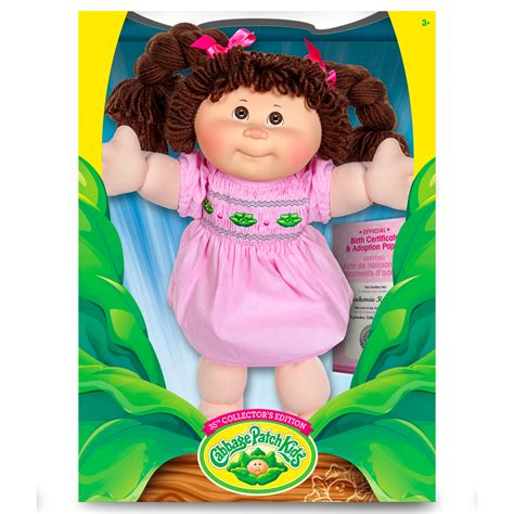 Cabbage Patch Kids Vintage Kids Retro Style Doll with Yarn
