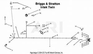 Mtd 14av804p401  1999  Parts Diagram For Electrical Briggs  U0026 Stratton Intek Twin