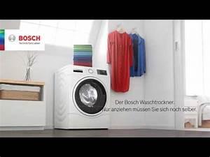 Bosch Waschtrockner Serie 6 : waschtrockner der serie 6 von bosch youtube ~ Frokenaadalensverden.com Haus und Dekorationen