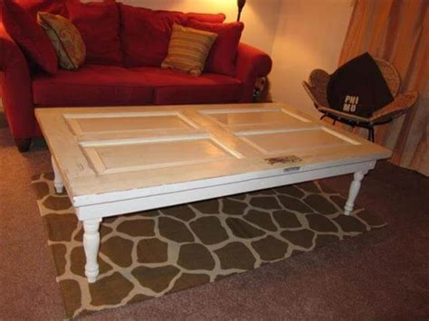 Diy Old Doors Turn Into Coffee Table Orange End Table Industrial Accent 72 Dining Counter Height Breakfast Double Vanity With Makeup Espresso Colored Coffee Tables Folding And Chairs Set