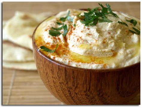 cuisine libanaise houmous houmous dip libanais aux pois chiches et au sésame