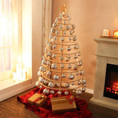 Spiral Weihnachtsbaum aus Holz