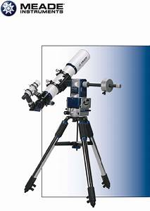 Meade Telescope Lx80 User Guide