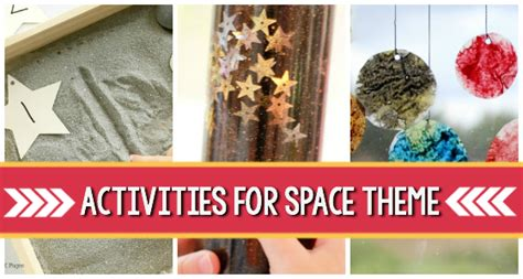 space theme activities  preschoolers pre  pages