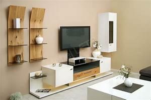 Höffner De Online Shop : gwinner wohnwand media concept mc902 wei balkeneiche m bel letz ihr online shop ~ Orissabook.com Haus und Dekorationen