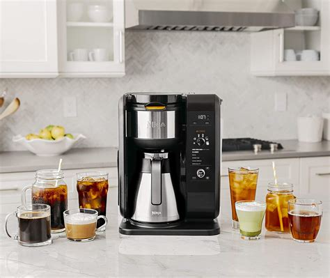 The $199.99 ninja hot and cold brewed system brews coffee and tea, offers 6 different cup sizes and it. Ninja Hot & Cold Brew System | Top Drip Coffee Maker