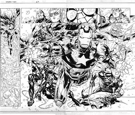 Avengers 50 Superheroes Printable Coloring Pages