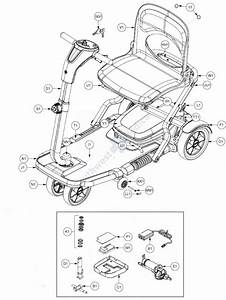 S19 Replacement Parts By Pride Mobility