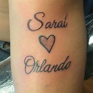 Tatuaggi con nomi (Foto) Bellezza PourFemme
