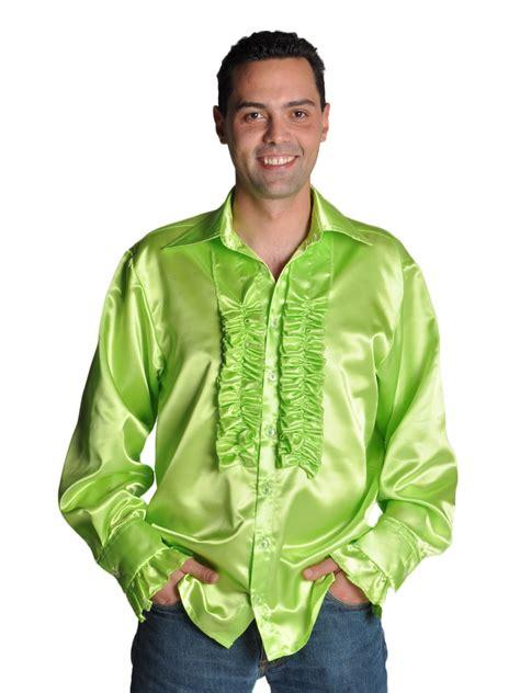 vetement annee 70 233 es 70 chemise mens satin vert clair v 234 tement disco d 233 guisement disco 25 07 2019