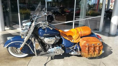 Page 128117, 2014 Indian Chief Vintage Springfield Blue