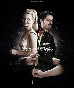 Emma and Hook - Once Upon A Time Fan Art (37704997) - Fanpop