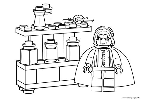 Harry Potter Lego Coloring Pages Pictures To Pin On