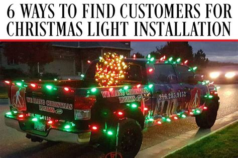 we hang christmas lights phoenix 6 ways to find customers for christmas light installation