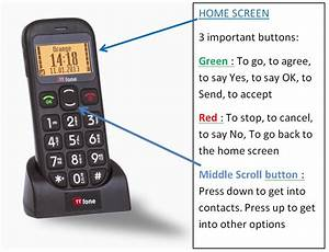 Jupiter Tt800 Big Button Senior Phone Instructions
