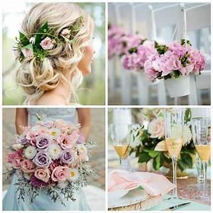 Deco Mariage Romantique : d co mariage romantique nos id es pour un mariage pastel inoubliable ~ Nature-et-papiers.com Idées de Décoration