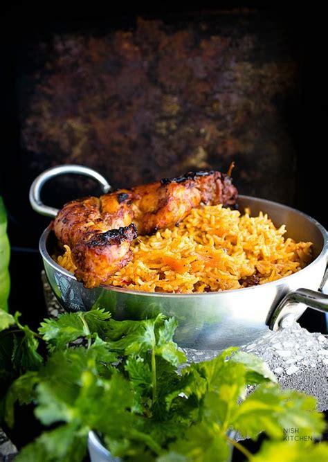 chicken kabsa arabian chicken  rice video nish