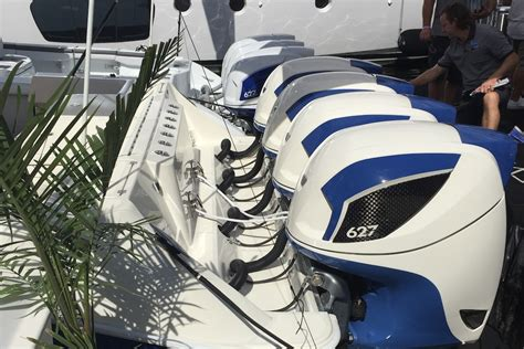 Freeman Boats With Seven Marine by Speed Boat Insanity At Fort Lauderdale More Powerful