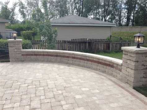 paver patio estimate brick pavers installation orland park il professional landscape maintenance and general