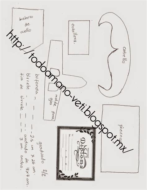 patrones fofuchas molde fofucha graduada fofuchas diagram graduation y floor plans