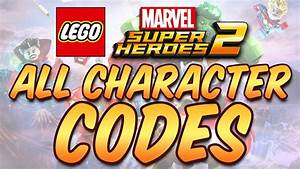Lego Marvel Super Heroes 2 All Character Cheat Codes