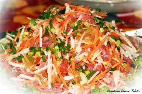 cuisine chinoise poisson la nourriture en polynésie française