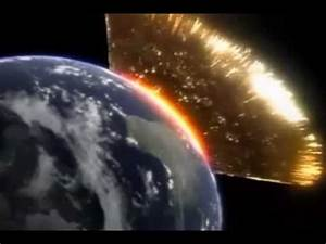 Meteor crashing into Earth - YouTube