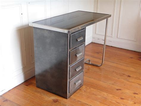 bureau metal industriel bureau industriel metal style and steel jpg tables