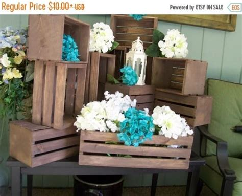 On Sale Wood Crates ,rustic Wedding , Wedding Reception