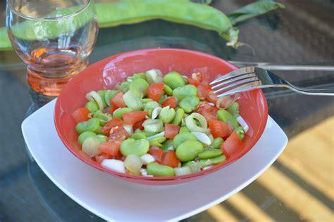 cuisiner feves fèves à la tomate basilic au fil du thym