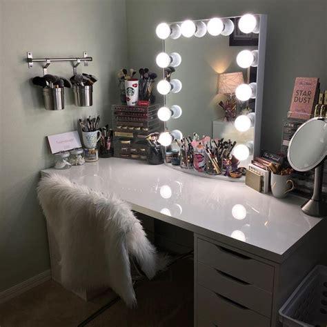 diy makeup desk with lights best 25 mirror vanity ideas on diy makeup
