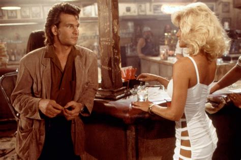 quotes  patrick swayze roadhouse quotesgram