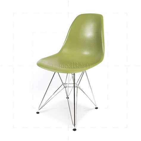 eames style dining dsr eiffel chair green