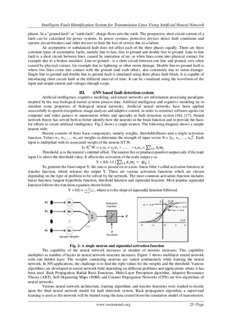 Intelligent Fault Identification System for Transmission