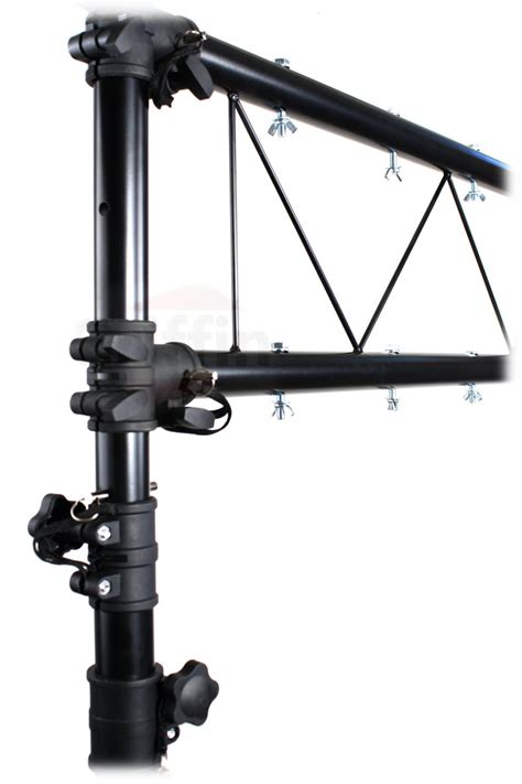 dj light stand dj light truss stand system by griffin i beam trussing
