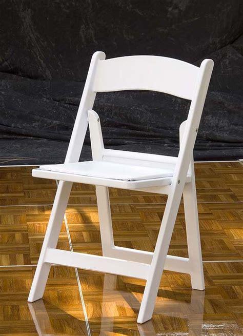 wedding items resin white wedding folding chair