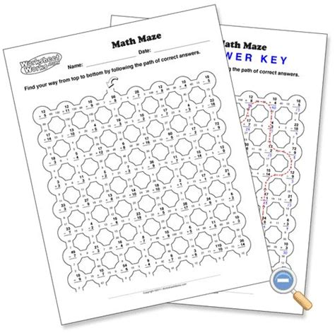 multiplication math maze worksheets math worksheet mp12