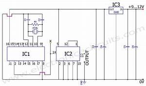 50 Hz 60 Hz Frequency Generator Circuit Using Crystal