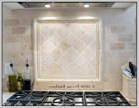 Tumbled Marble Kitchen Backsplash Tumbled Backsplash Home Design Ideas