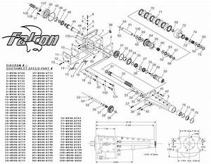 Winters Falcon Transmission Diagram