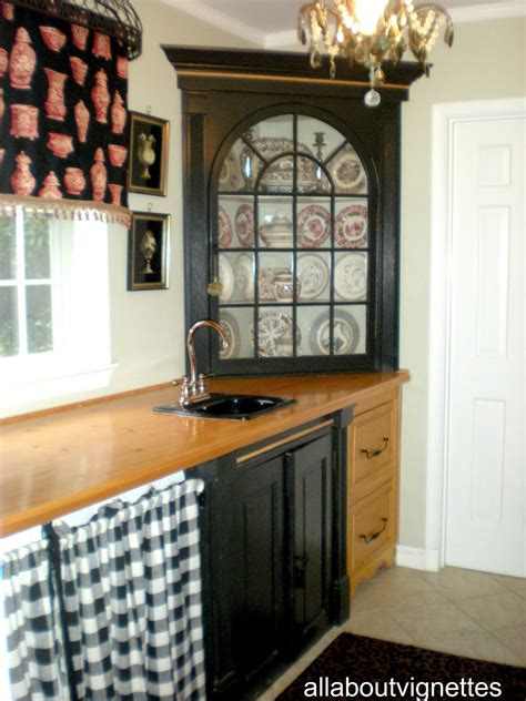 The Cabinet - all about vignettes another laundry pantry change up