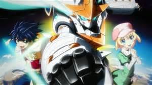 Mecha Anime Robots Series