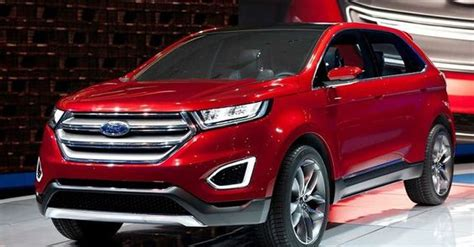 2018 Ford Edge Hybrid Design, New Features And Performance