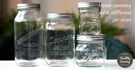 jar sizes healthy canning
