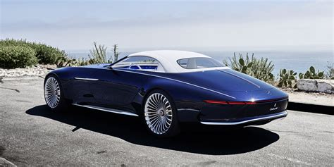Maybach Concept Car by Mercedes Maybach 6 Cabriolet Concept The Study Of A 6