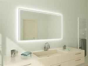 Badspiegel Rund Mit Beleuchtung : badspiegel mit led beleuchtung minos ~ Indierocktalk.com Haus und Dekorationen