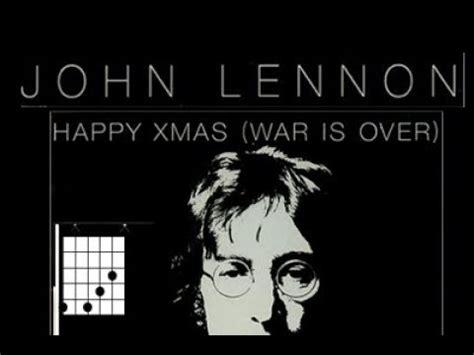 Happy Lennon Testo by Accordi Chitarra Happy War Is Lennon