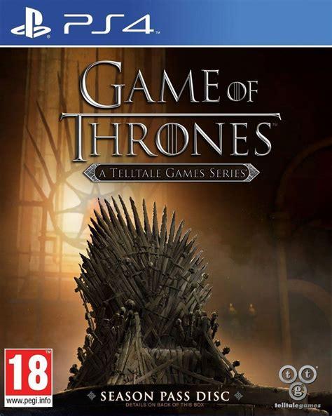 game  thrones season  toda la informacion ps pc