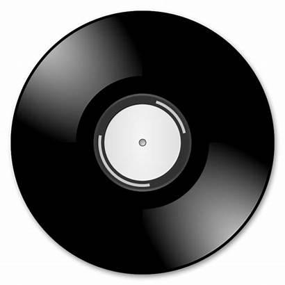 Vinyl Records Clker Clip Clipart Vector Royalty